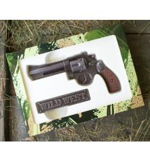 """Шоколадный набор """"Револьвер"""" купить в интернет магазине подарков ПраздникШоп"""