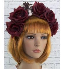 Прикраса на голову Хеллоуїн Аннабель купить в интернет магазине подарков ПраздникШоп