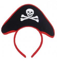 Шляпа Пирата на обруче купить в интернет магазине подарков ПраздникШоп