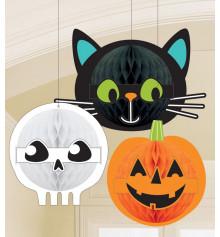 """Подвесные фигуры """"Друзья Хеллоуин"""" купить в интернет магазине подарков ПраздникШоп"""