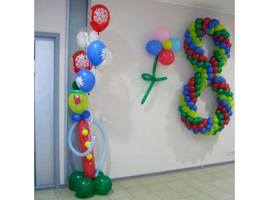 Плетеная цифра 8 купить в интернет магазине подарков ПраздникШоп