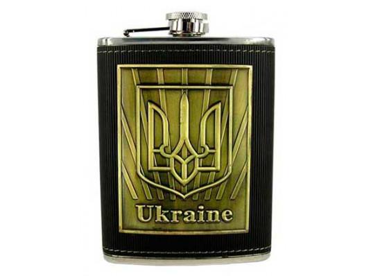 """Фляга """"Украина"""" купить в интернет магазине подарков ПраздникШоп"""