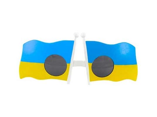 """Очки """"Украина"""" купить в интернет магазине подарков ПраздникШоп"""