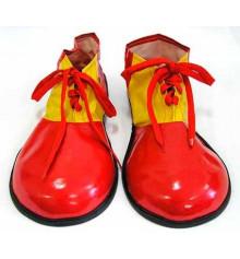 Ботинки клоуна красные (пара) купить в интернет магазине подарков ПраздникШоп