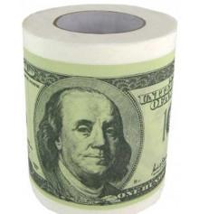 Туалетная бумага 100 долларов купить в интернет магазине подарков ПраздникШоп