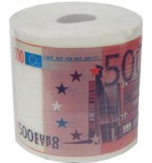 Туалетная бумага 500 евро купить в интернет магазине подарков ПраздникШоп