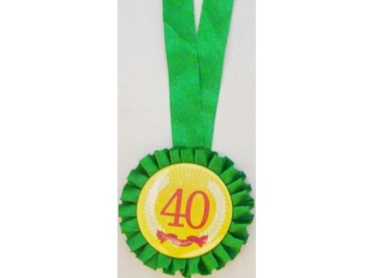 Медаль юбилейные даты 40 лет купить в интернет магазине подарков ПраздникШоп