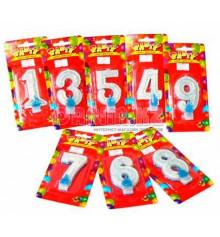 Свечи - цифры купить в интернет магазине подарков ПраздникШоп