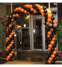 Арка в 4-е шара с пауками купить в интернет магазине подарков ПраздникШоп