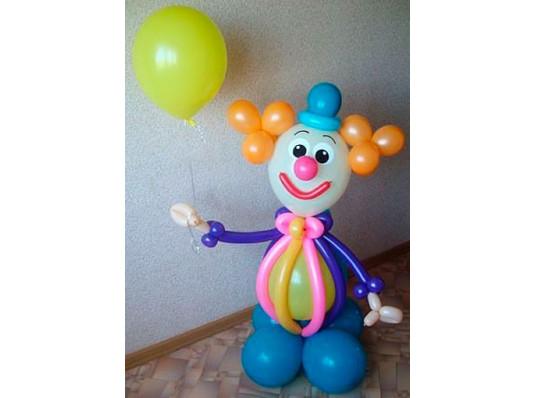 """Фигура из шариков """" Клоун """" купить в интернет магазине подарков ПраздникШоп"""