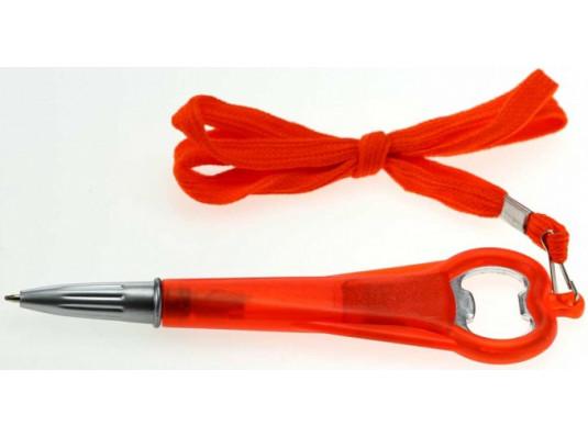Ручка с открывалкой и шнурком купить в интернет магазине подарков ПраздникШоп