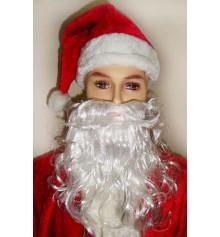 """Борода """"Деда Мороза"""" 30см купить в интернет магазине подарков ПраздникШоп"""