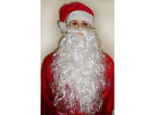 """Борода """"Деда Мороза"""" 50 см купить в интернет магазине подарков ПраздникШоп"""