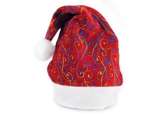 """Колпак """"Санта Клауса"""" с рисунком купить в интернет магазине подарков ПраздникШоп"""