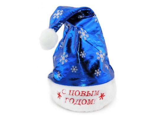 """Колпак """"Санта Клауса"""" со снежинками купить в интернет магазине подарков ПраздникШоп"""