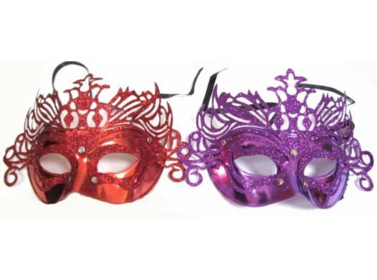 Карнавальная маска Венеция с короной купить в интернет магазине подарков ПраздникШоп