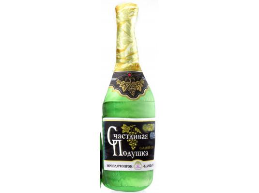 """Подушка """"Счастливое шампанское"""" купить в интернет магазине подарков ПраздникШоп"""