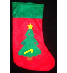 Рождественский носок купить в интернет магазине подарков ПраздникШоп