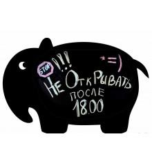 Магнитная доска для холодильника Слон купить в интернет магазине подарков ПраздникШоп