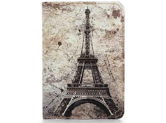 Кожаная обложка на паспорт Париж купить в интернет магазине подарков ПраздникШоп