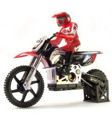 Радиоуправляемая модель мотоцикла 1:4 Himoto Burstout MX400 купить в интернет магазине подарков ПраздникШоп