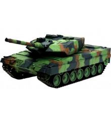 Танк р/у 1:16 Heng Long Leopard II A6 2.4GHz с пневмопушкой и дымом купить в интернет магазине подарков ПраздникШоп