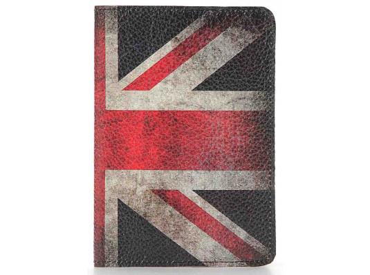 Кожаная обложка на паспорт Великобритания купить в интернет магазине подарков ПраздникШоп