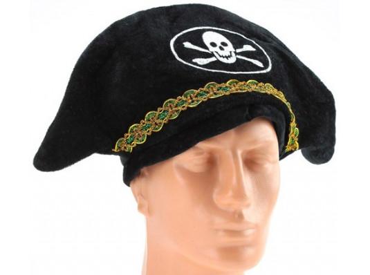 """Шляпа """"пиратская пилотка"""" купить в интернет магазине подарков ПраздникШоп"""
