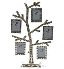 """Фоторамка со стразами """"дерево"""" купить в интернет магазине подарков ПраздникШоп"""