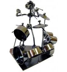 """Техно-арт статуэтка """"Барабанщик"""" купить в интернет магазине подарков ПраздникШоп"""