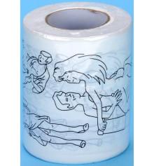 """Туалетная бумага прикольная """"КАМАСУТРА"""" купить в интернет магазине подарков ПраздникШоп"""