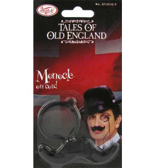 """Монокль с усиками """"Old England"""" купить в интернет магазине подарков ПраздникШоп"""