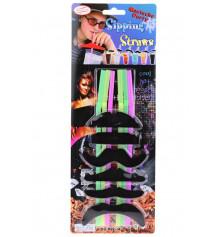 Соломки с усами, набор 6 шт. купить в интернет магазине подарков ПраздникШоп