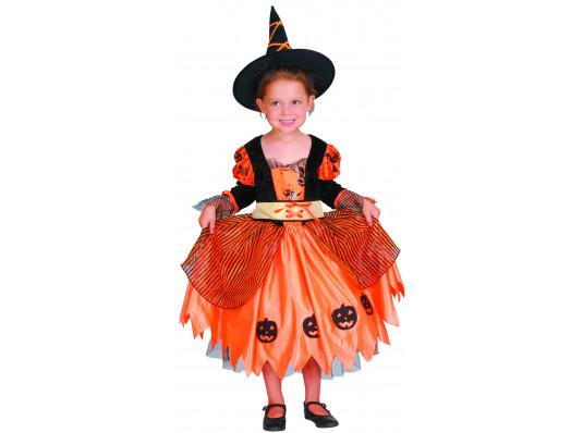"""Детский карнавальный костюм """"Ведьма тыквенная"""" купить в интернет магазине подарков ПраздникШоп"""