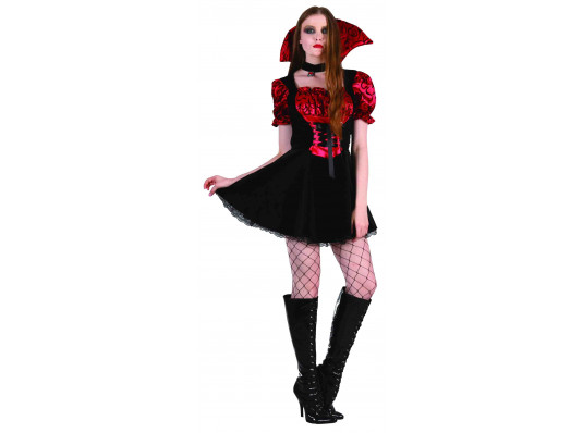 """Взрослый карнавальный костюм """"Вампирша"""" купить в интернет магазине подарков ПраздникШоп"""