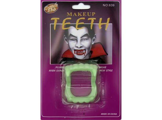 Зубы вампира светонакопительные купить в интернет магазине подарков ПраздникШоп