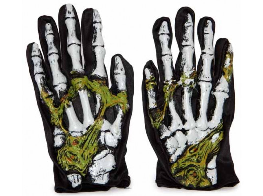 Перчатки Скелета купить в интернет магазине подарков ПраздникШоп