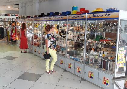 Розничный отдел магазина Праздник-Шоп в универмаге «СКОРПИОН»